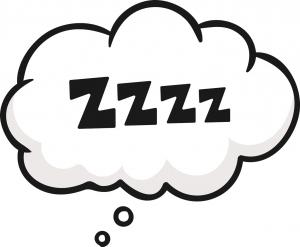 Sprechblase für Schlafen mit ZZZ, Quelle: Fotolia 177293430, fotolia.de | faye93