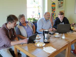 Internet-Café für Senioren, Foto: MGH Schnerverdingen