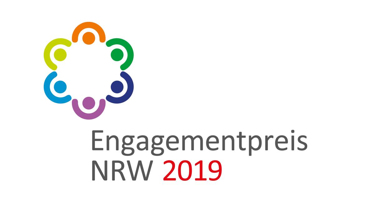 Logo des Engagementpreises NRW 2019