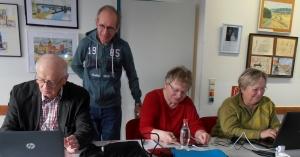 Computertreff des Verein NetComputer Lernen