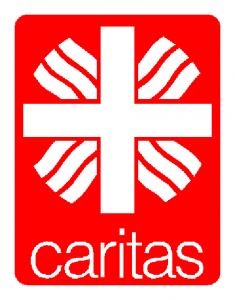 Sie sehen des Logo der Caritas.