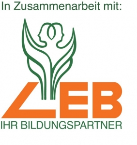 Sie sehen das Logo der LEB - Ihr Bildungspartner.