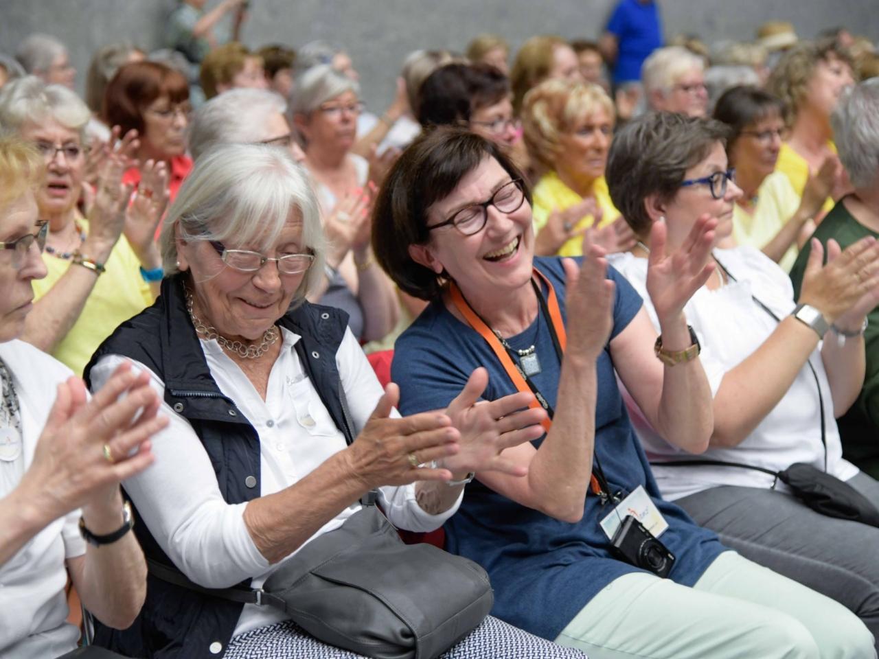 Teilnehmende des Deutschen Seniorentags 2018