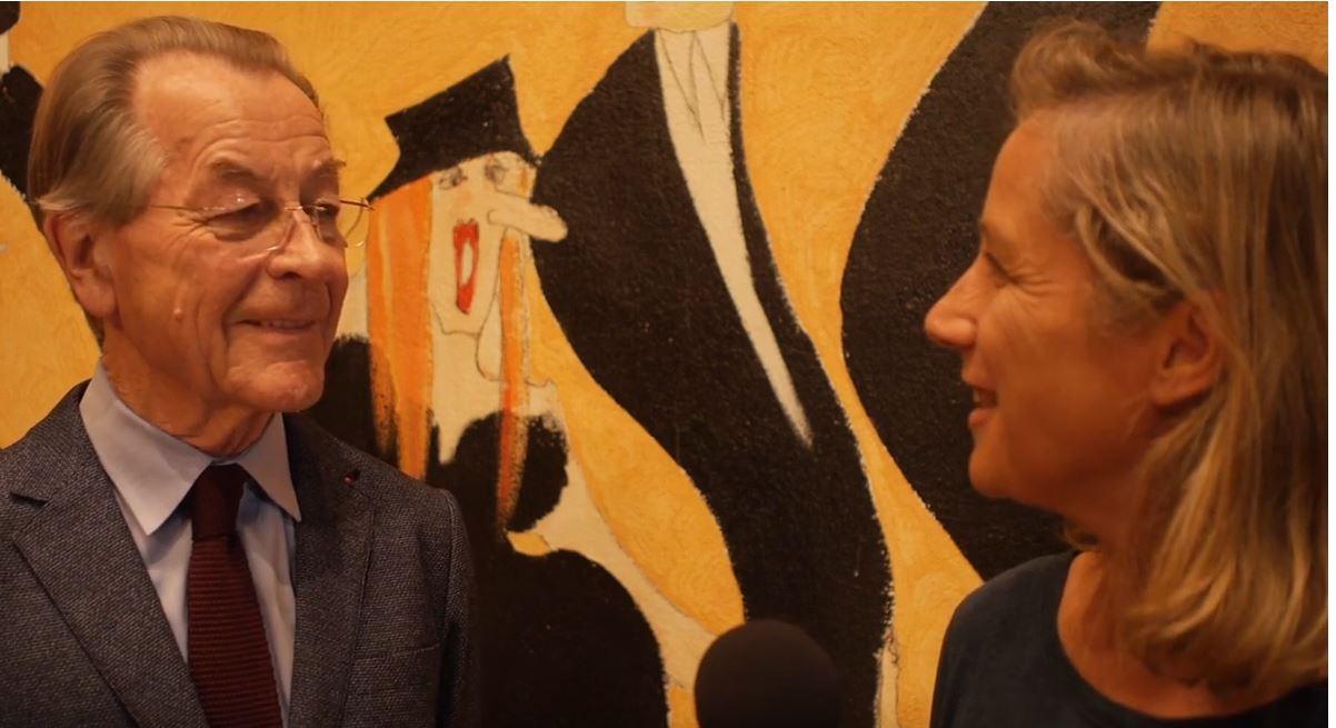 Nicola Röhricht interviewt Frank Müntefering zum Thema Neugierde und Lernen im Alter