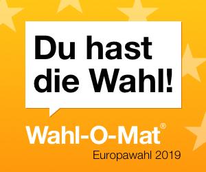 Bild zum Wahlomaten im Zusammenhang mit der Europawahl 2019.