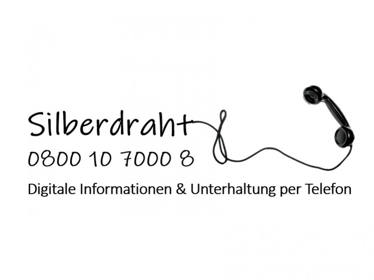 Telefonnummer Silberdraht: 0800 1070008
